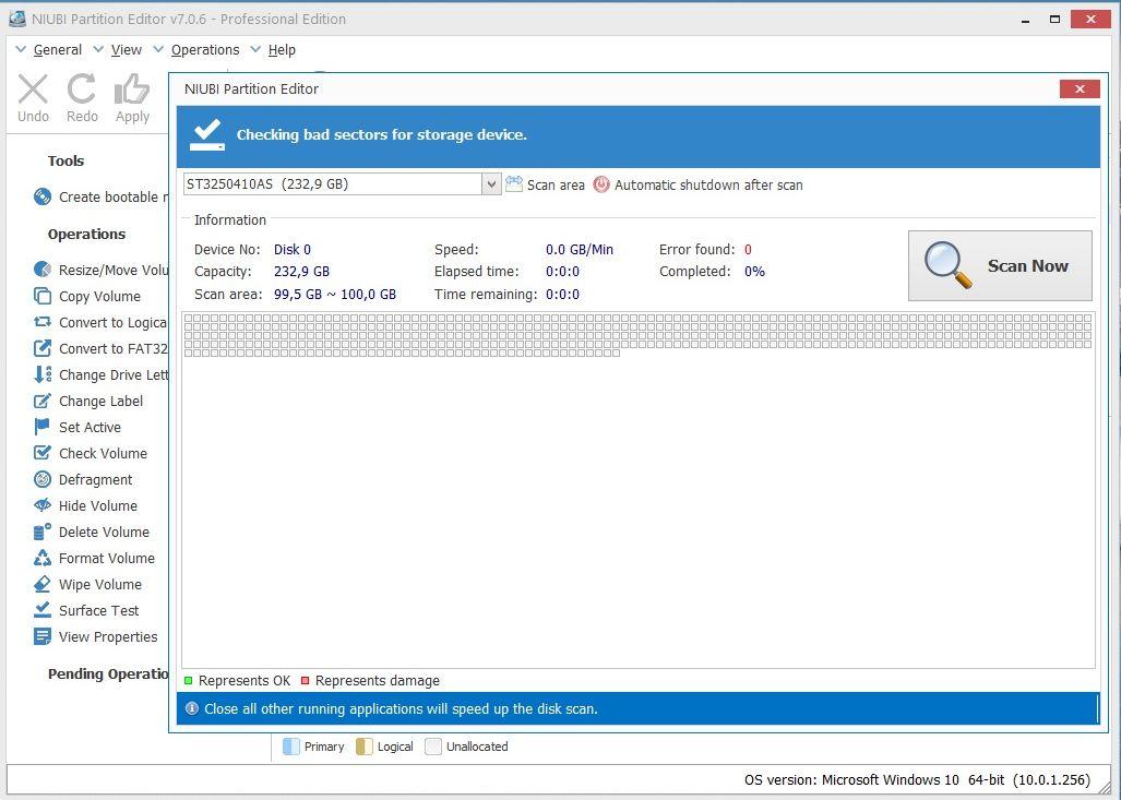 NIUBI Partition Editor Professional 7.0.6 / ~eng~